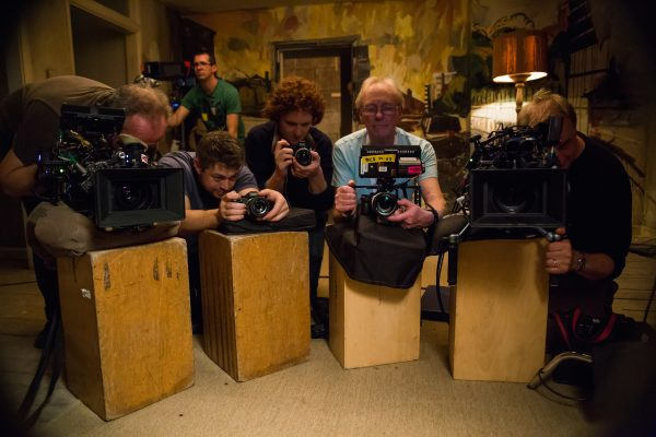 Multiple a7R II cameras were used at the same time to guarantee coverage of Bob