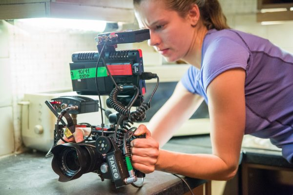 a7R II cameras were set up in a variety of ways including handheld configurations