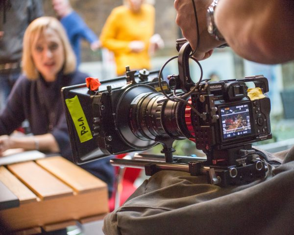 One of the Sony a7R II setups used for the film