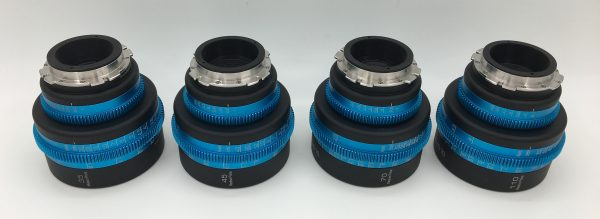 The lenses can be put between PL and EF mount