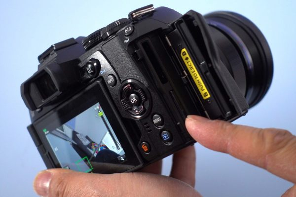 The camera has two SD card slots