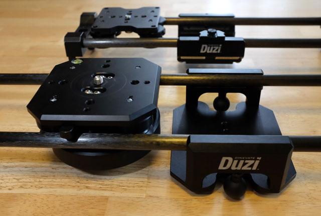 Duzi V4 in front, V2 in the rear