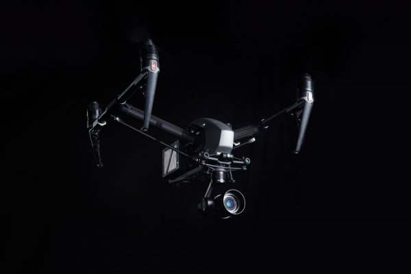 The Inspire 2 with Zenmuse X5 mounted.