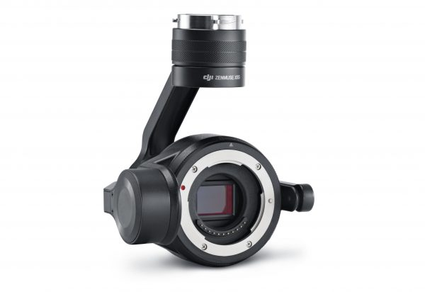 DJI's Zenmuse X5S is the company's new flagship camera.