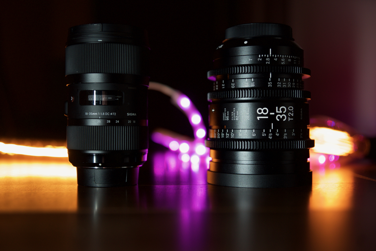 Sigma 18-35mm T2.0 and 50-100mm T2.0 Cine zooms review Part 2 – How ...