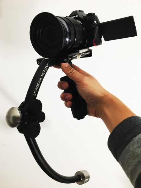 So how well does the OMD E-M1 II work on a Steadicam?