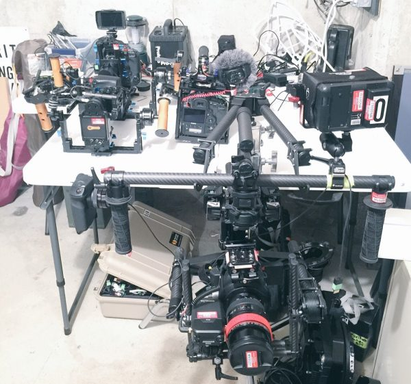 Gimbals: a useful production tool you can switch between cameras.