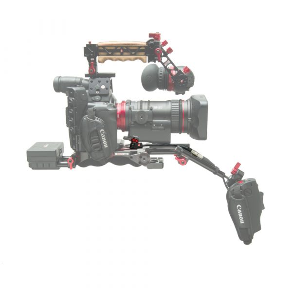 The Canon 18-80 compact-servo lens with Zacuto Recoil