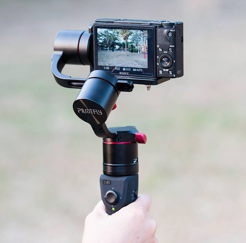 Pilotfly C45 Brushless Gimbal Gives Rx100 Owners A Clear