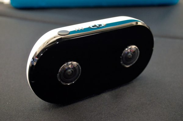 LucidCam can shoot 2K video in a 180-by-180-degree field of view.