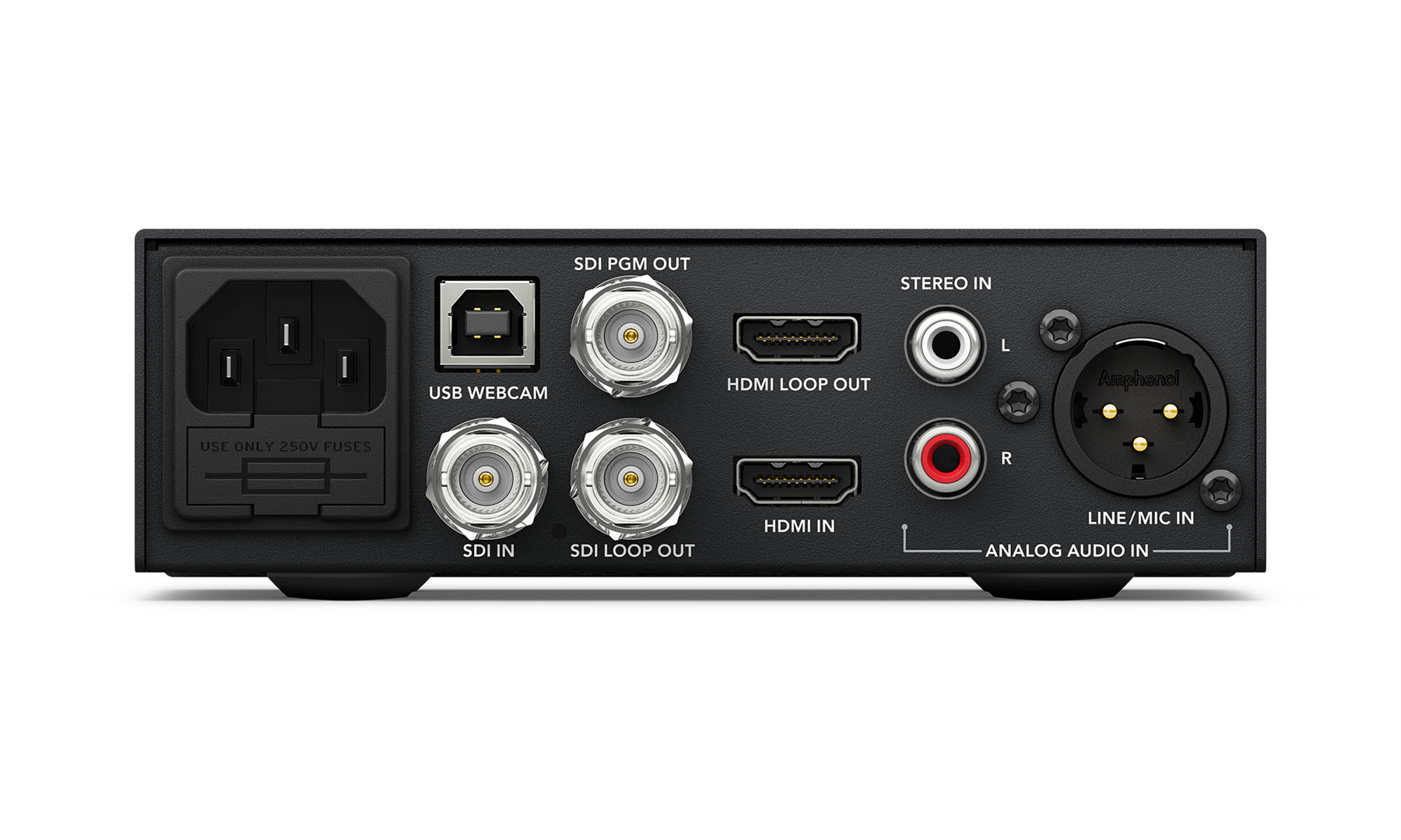 Blackmagic Web Presenter Livestream To The Web From Any Camera Newsshooter