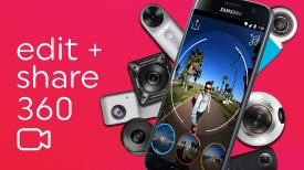 Collect Edit 360 video from a phone