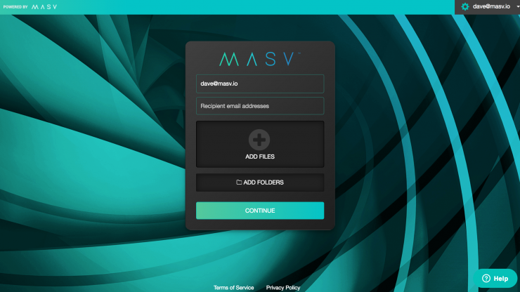 MASV Rush- a super fast pay-as-you-go file transfer system