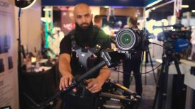 Panasonic GH5 with Letus Helix Jr single axis and Steadicam Aero allows new levels of stabilisation