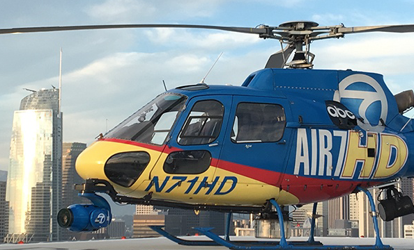 Car chases are about to get a whole lot better- KABC-TV gets a SHOTOVER F1 LIVE system with a crazy 6500mm lens