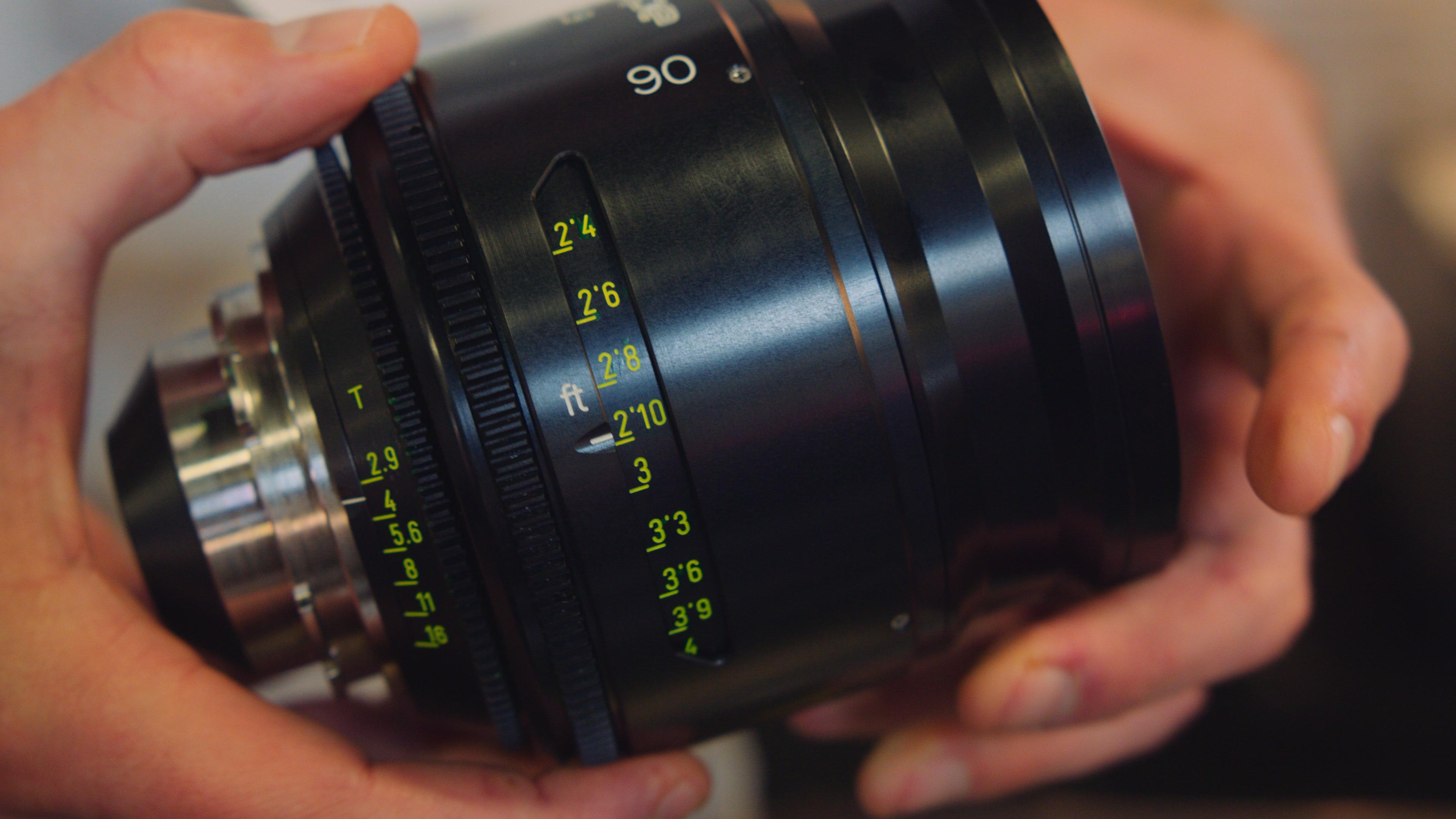 Old made new - Leica R full cine-rehoused prime lenses from