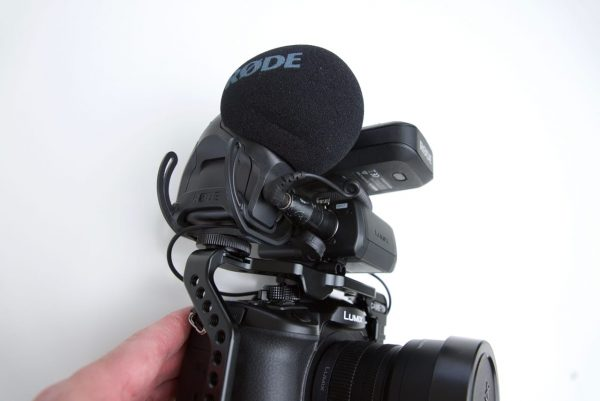 Mounting a microphone as well as the XLR adapter to the CAME-TV GH5 cage