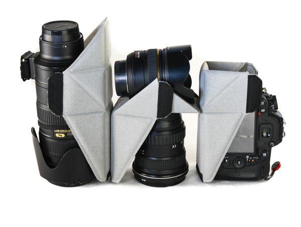 Peak Design's innovative lens support system