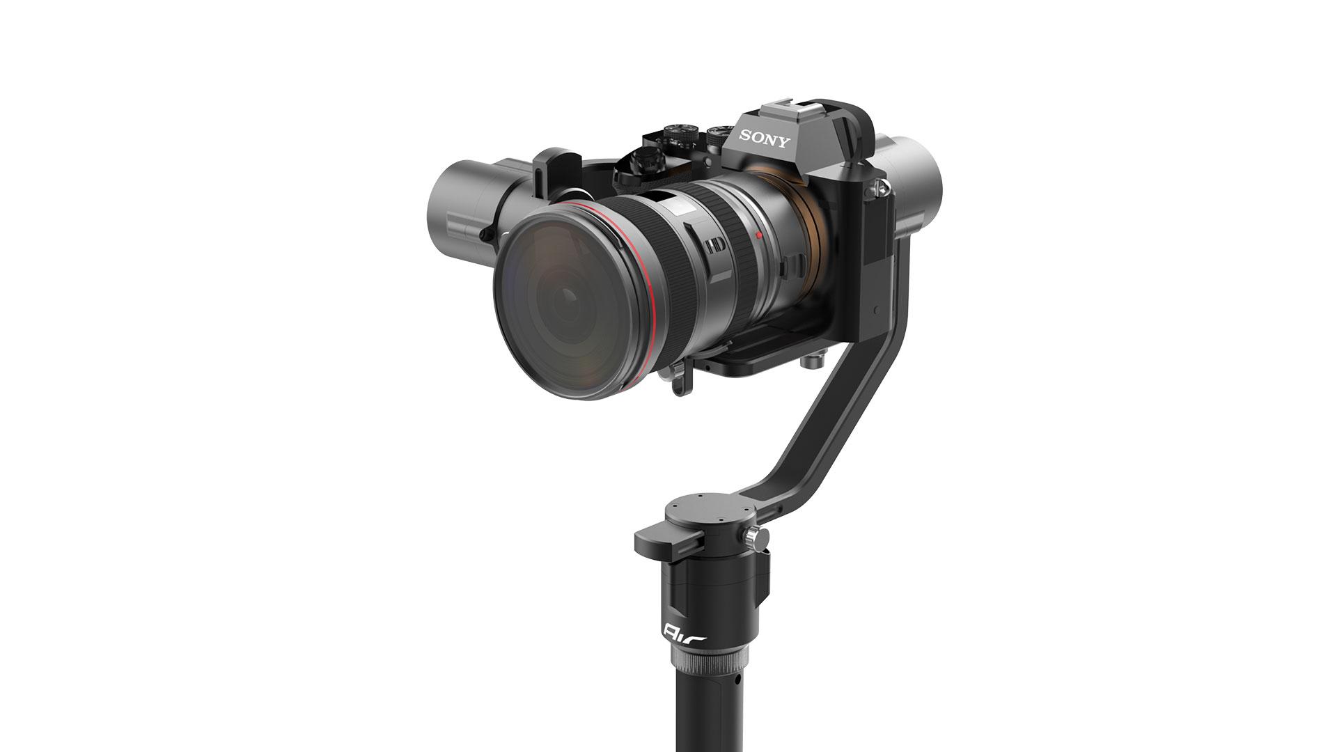 Gudsen MOZA Air: a $599 handheld gimbal for mirrorless and DSLR cameras