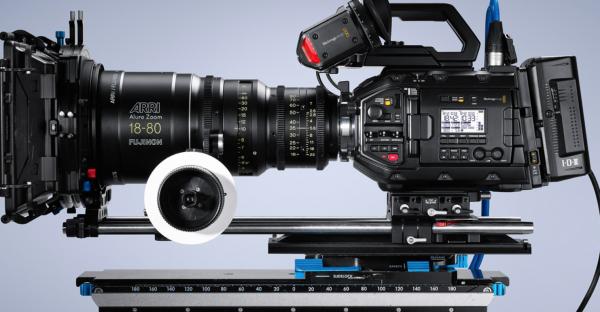Blackmagic Design announces the URSA Mini Pro with built in