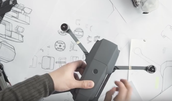 The Art of Form- DJI explains how they conceived and developed the Mavic Pro
