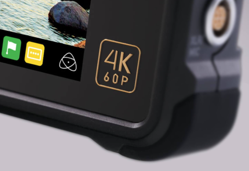 The Atomos Inferno records 4K60P