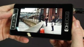 SmallHD 503 2000nit daylight viewable 5 inch field monitor at BVE 2017