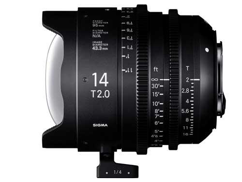 Sigma Cine 14mm T2