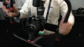 CAME TV Prophet gimbal Newsshooter at NAB 2017