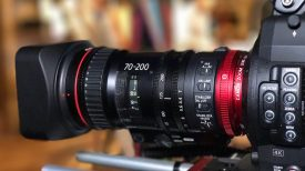 Canon 70 200 cine zoom Newsshooter at NAB 2017