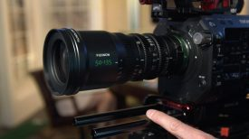 Fujinon MK 50 135mm Newsshooter at NAB 2017