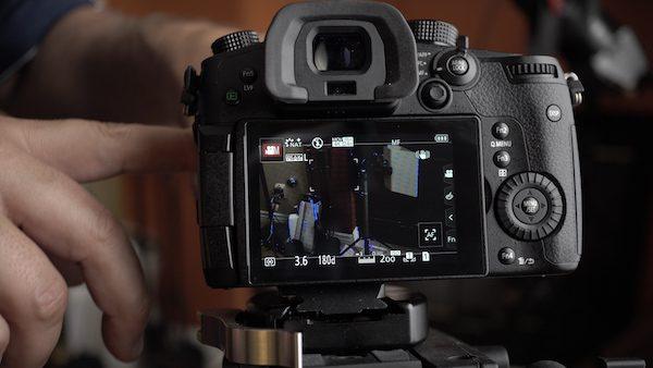 GH5 Speed Booster XL Screen pops up