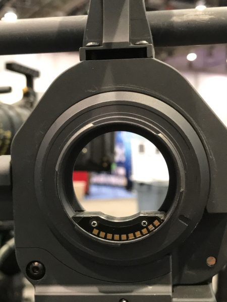 Lanparte camera cage with built in lens adapter