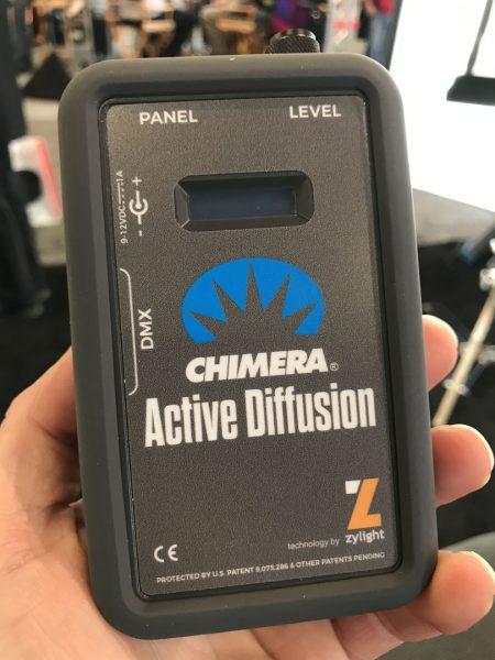 Chimera active diffusion panel