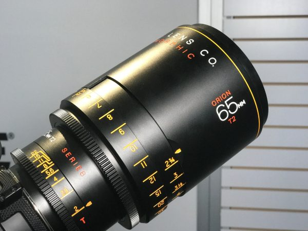 Atlas Lens Co. Orion 65mm T2 2x anamorphic