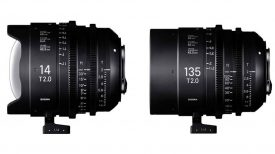 New 14 and 35mm Sigma Cine Lenses