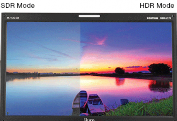 "Ikan OBM monitor range expanded with 31"" native 4K 10-Bit"