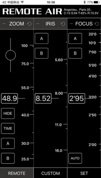 PD Movie Remote Air Pro Remote Air App