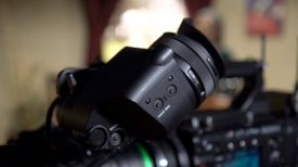 Sony DVFEL200 EVF for F5 and F55 Newsshooter at NAB 2017