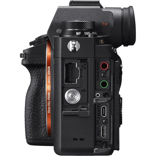 Sony a9 side ports