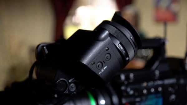The Sony DVF-EL200 OLED EVF