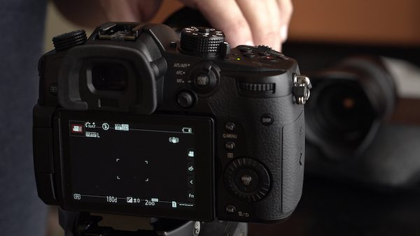 Speed Booster black screen on GH5