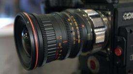 Tokina Canon EF to PL mount 1.6x expander NAB 2017