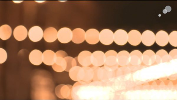 A screengrab showing bokeh from Behind the Lens episode 1