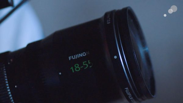 A Fujinon 18-55 T2.9 lens from Behind the Lens episode 1