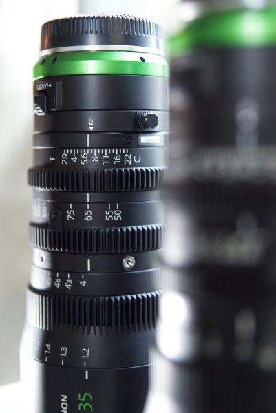 Fujinon MK 18-55mm T2.9 and MK 50-135mm T2.9