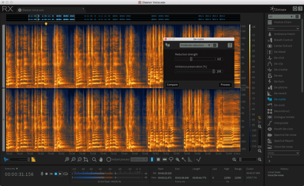 Isotope RX6 audio editor aims to clean up the impossible