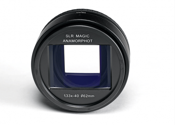 The SLR Magic 1.33x Anamorphot adapter