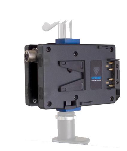 Light Stand Spigot Sizes: Hawk-Woods New Power Generation: Attach Batteries To Light