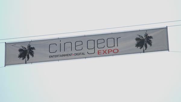 Cine Gear banner